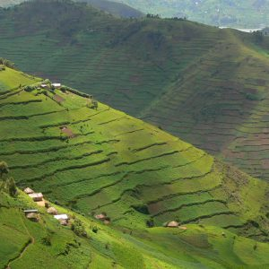 Scenic views of Kabale